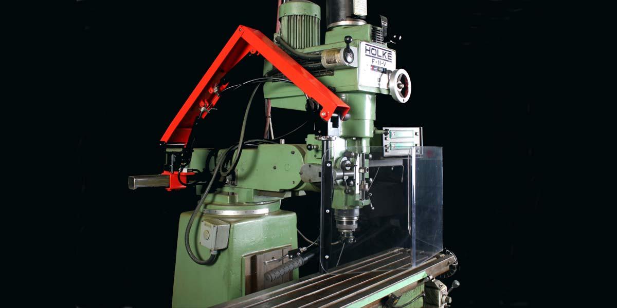 Groupe Renfort | Sécurité des machines | Fraiseuses